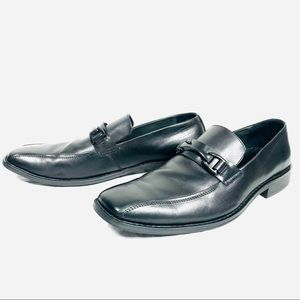 Kenneth Cole - Black Leather Loafers - 10M - EUC!!